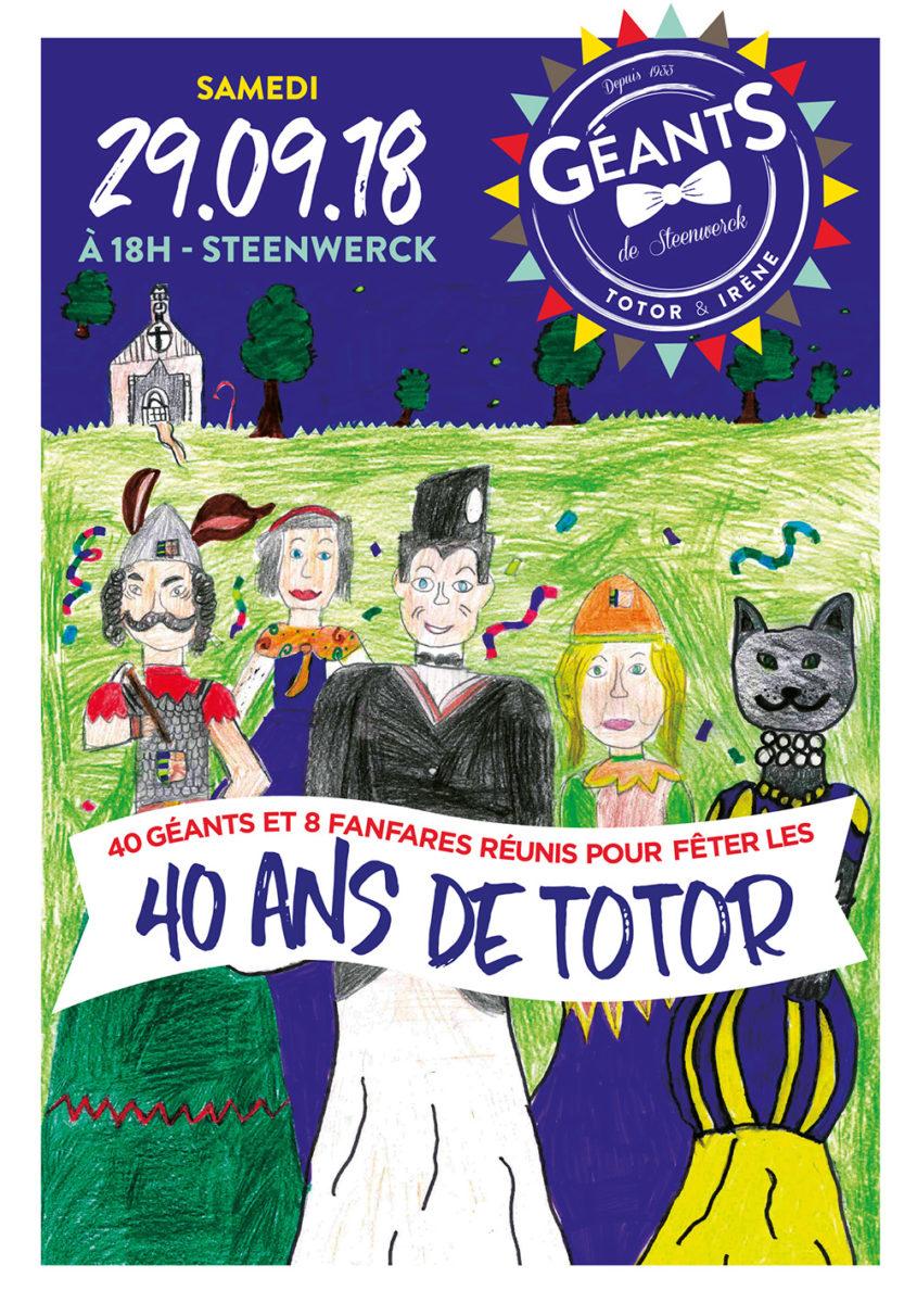 Totor, le géant de Steenwerck fête ses 40 ans !
